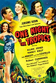 Watch Full Movie :One Night in the Tropics (1940)